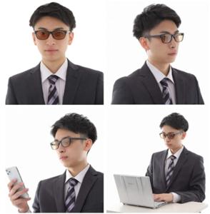 404 ブルーライトカットメガネ