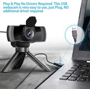 「2020年最新型」IVSO Webカメラ ウェブカメラ