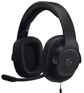 開放型ゲーミングヘッドセット_Logicool G G433BK