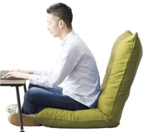 座椅子_ドウシシャ(DOSHISHA)