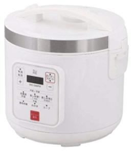 糖質カット炊飯器_石崎電機製作所 SRC-500PW