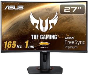 湾曲モニター_ASUS TUF Gaming
