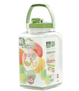 果実酒瓶_タケヤ化学工業(Takeya) S型 4.0L