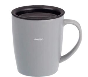蓋つきマグカップ_HARIO(ハリオ) SMF-300-GR