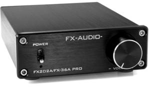 パワーアンプ_FX-AUDIO- FX202A/FX-36A PRO