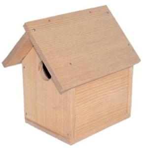 鳥の巣箱_サンワ