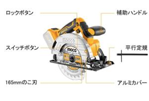 丸ノコ_INGCO